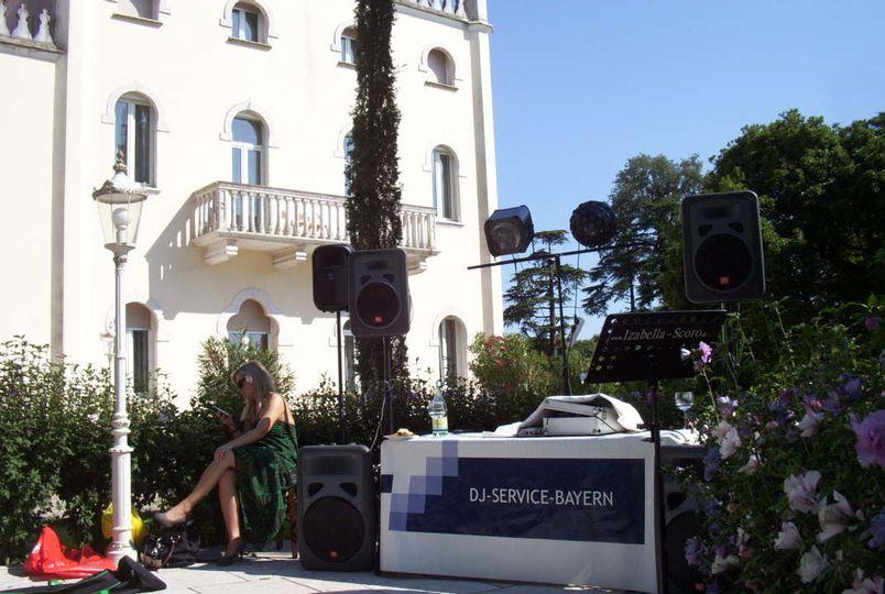 DJ at Lake Garda