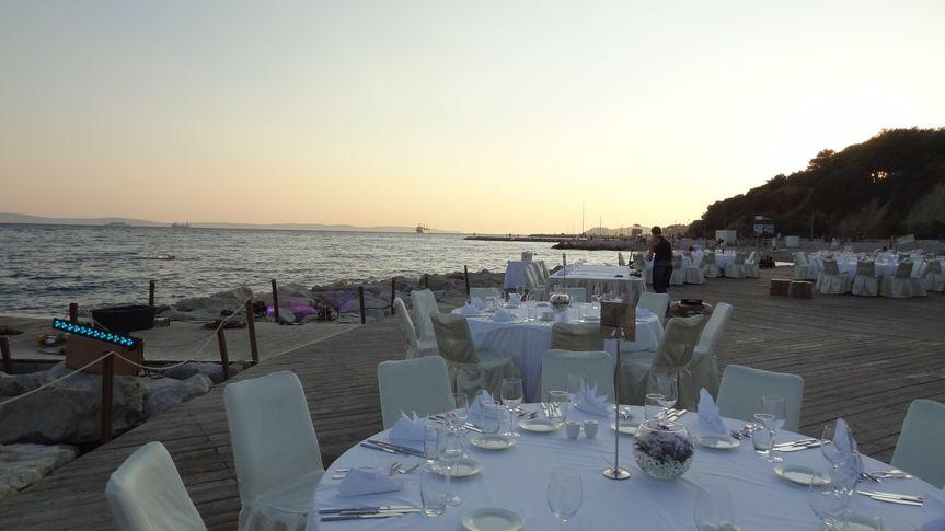 Wedding by the sea in Croatia
