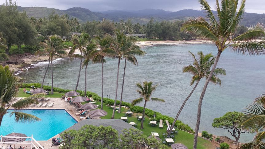 guest room view of turtle bay 2