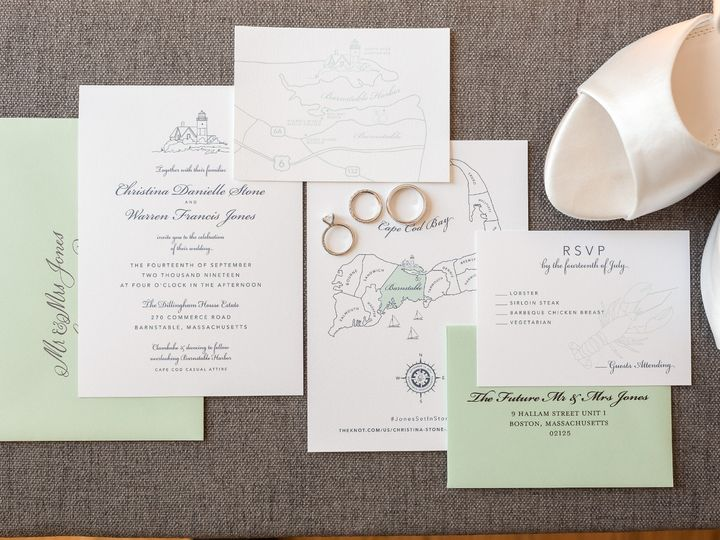 Tmx 0101 Christina Warren1 51 1054937 1572994168 Stokesdale, NC wedding invitation