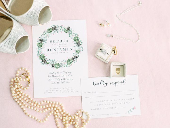 Tmx Sophiabendanielleflakephotography 01 3 51 1054937 Stokesdale, NC wedding invitation