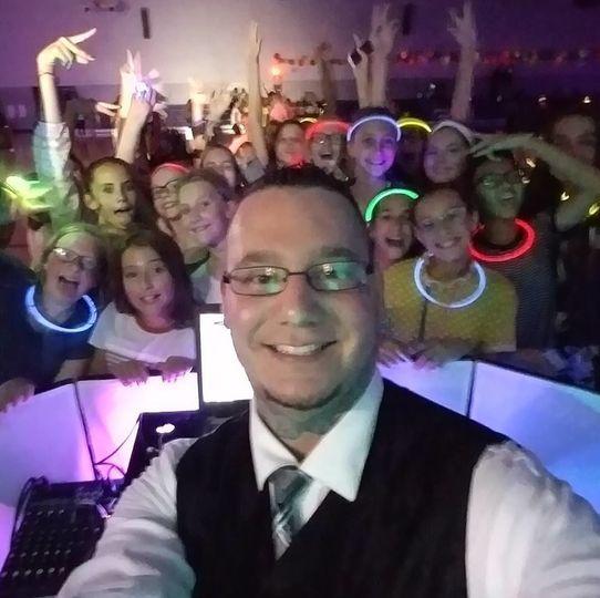 DJ Logan Rocking a School Dance!