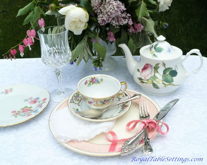 Adorn your tables with our unique vintage and antique mismatched silver-plated silverware. Rent sets...