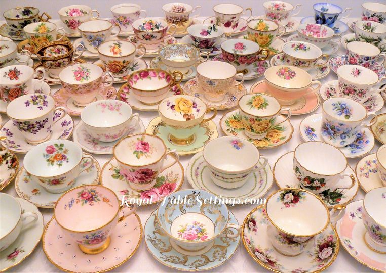 We have over 250 teacups for rent! We also have unique teacups such as a wedding, birthday,...