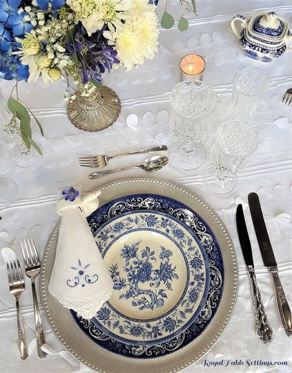 Royal Blue Wedding/Baby Shower
