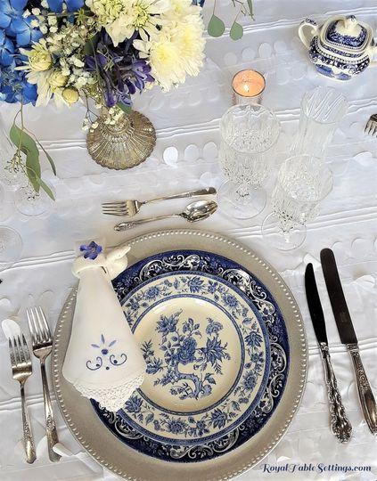 Royal Blue Wedding/Baby Shower