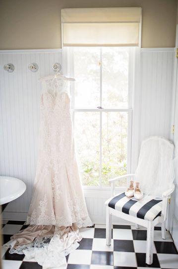 Bridal getting ready area