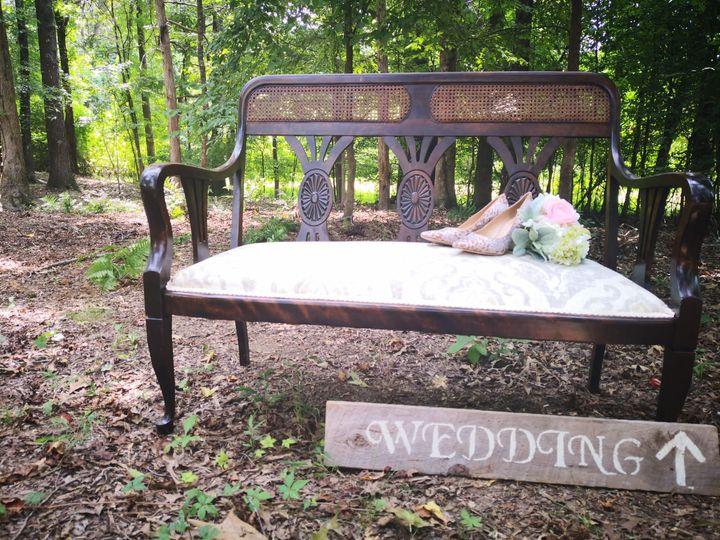 Woodland wedding site