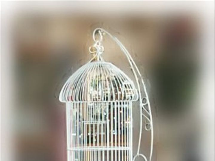 Tmx 1289836998113 BirdCageWhiteFloorstanding Independence wedding rental
