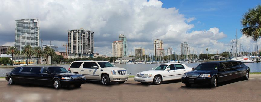 All Points Limos Fleet in St. Petersburg FL