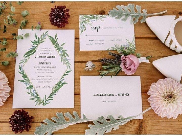 Tmx 1515370611 F01acf77505c95e8 1515370610 A1a9438daf3a6457 1515370609883 6 Snohomishweddingph Marysville wedding invitation