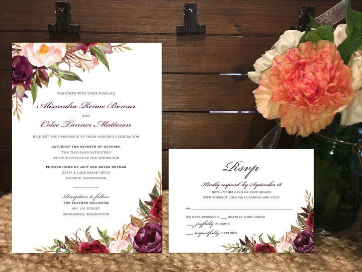 Tmx 1515370961 F55a73f80b3d8dec 1515370958 Dfa107f69485c6de 1515370946048 14 85f394851426d04f6 Marysville wedding invitation