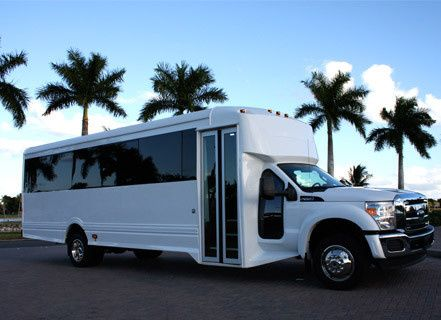white extended bus 006