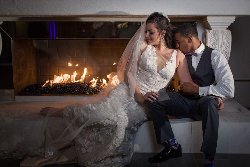 Formal fireplace photo