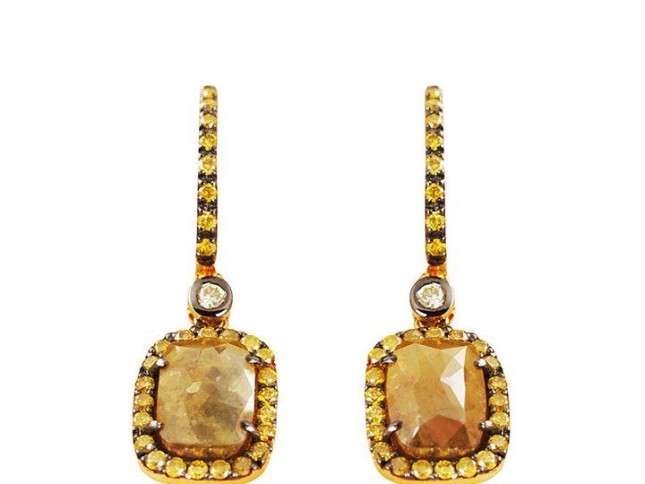 Tmx 1419894768861 2 Diamond Slice Earrings Austin wedding jewelry