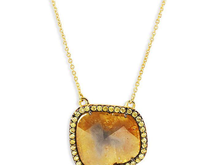 Tmx 1419894771757 2 Diamond Slice Necklace 2 Austin wedding jewelry