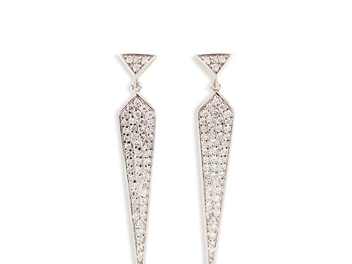 Tmx 1419894794523 6 Long And Lean Earrings Austin wedding jewelry