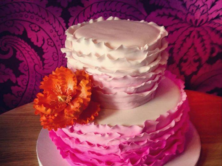 Tmx 1423675689146 C9fd5f17 Cccd 41aa Bf11 A8405692eeda Mullica Hill wedding cake