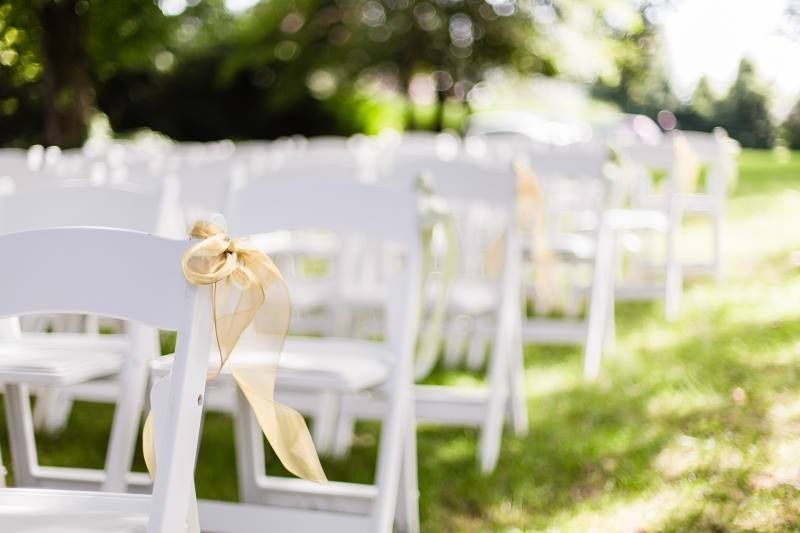 Simple chair decor