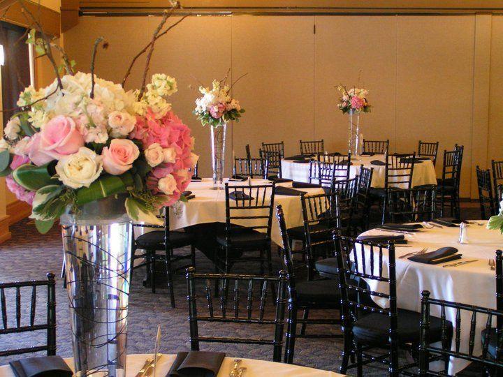 Tmx 1348804235258 Softpinkcenterpiece Reno, Nevada wedding florist