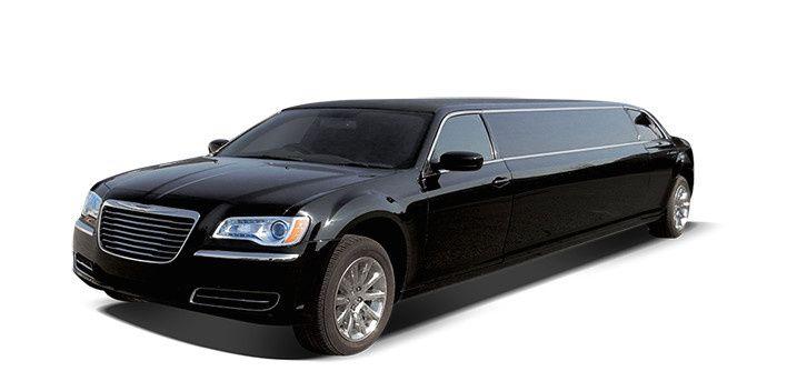 12 Person Stretch Limousine Black