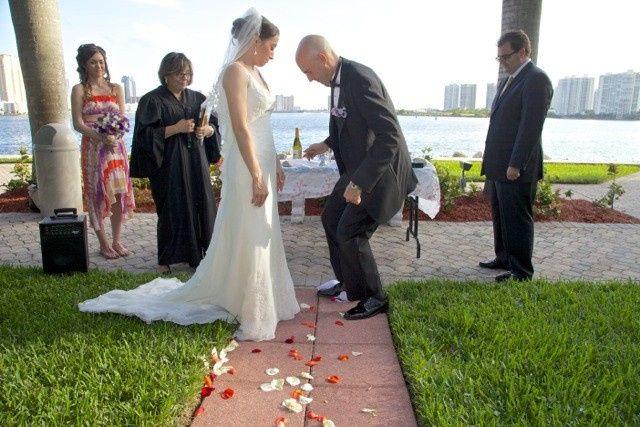 Tmx 1396893944446 2013 Alicia  Daniel 26 West Palm Beach, Florida wedding officiant