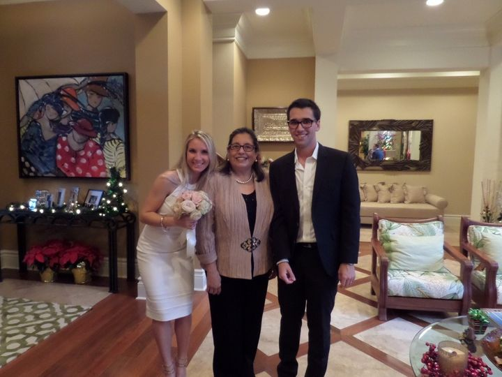 Tmx 1422842663867 2014 Nov Dominiquepedro 1 West Palm Beach, Florida wedding officiant