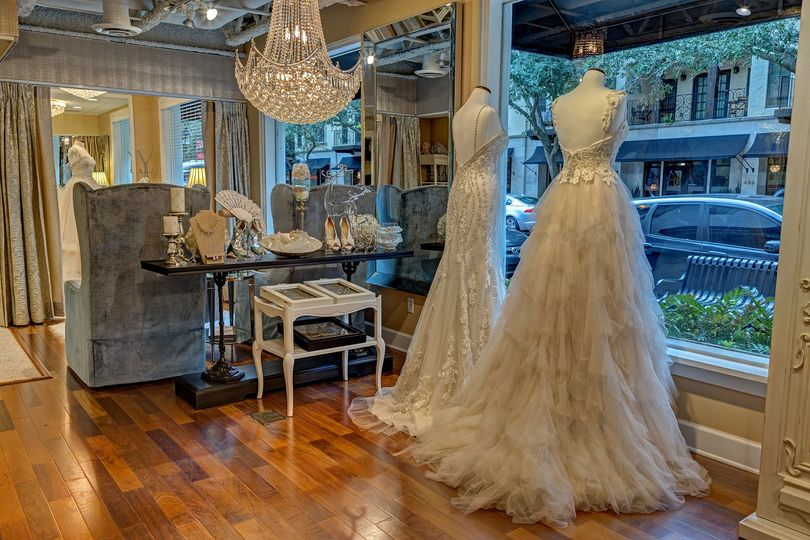 something new bridal boutique interior featured