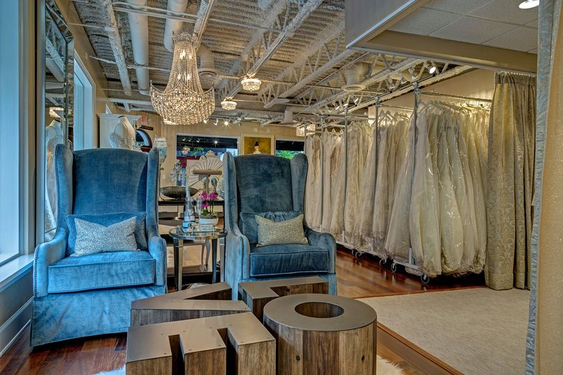 something new bridal boutique interior guest hos