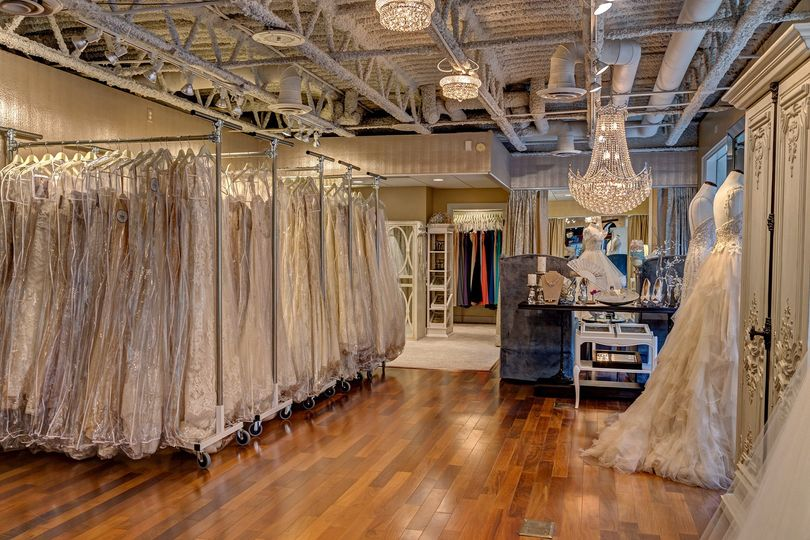 something new bridal boutique interior showroom