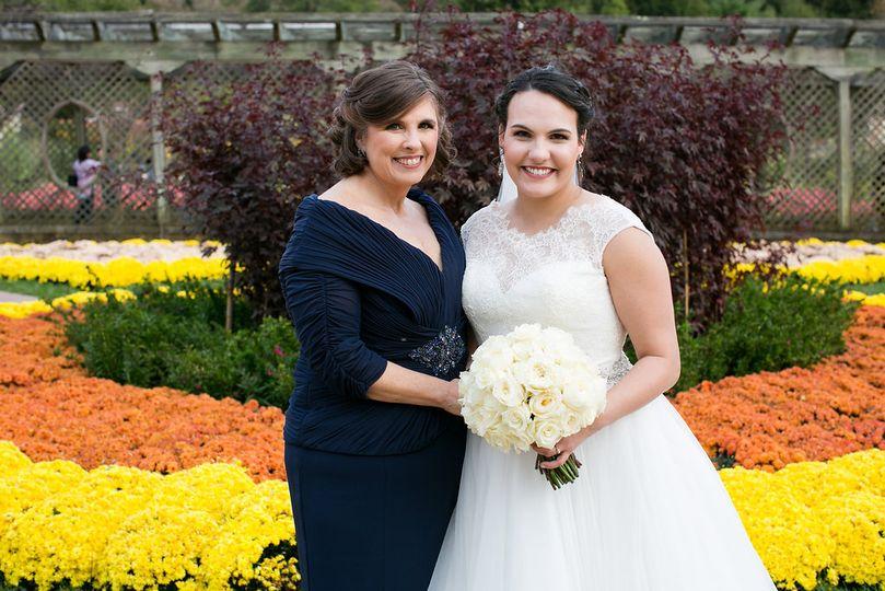 Bride & Her Mom