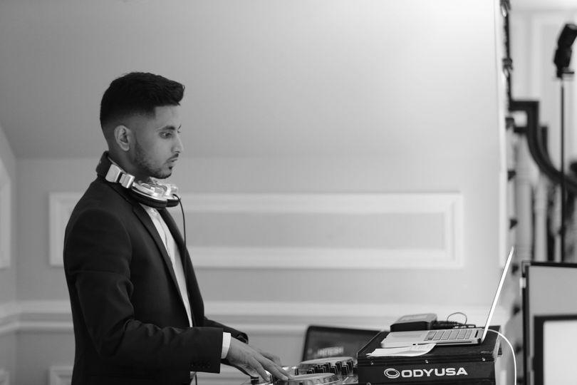 DJ ready to play tunes