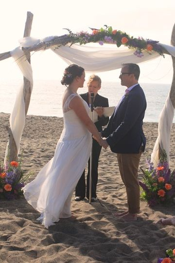 Gleneden Beach wedding