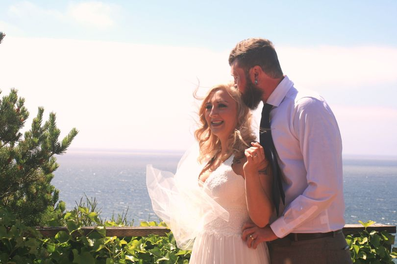 Lincoln City vrbo wedding