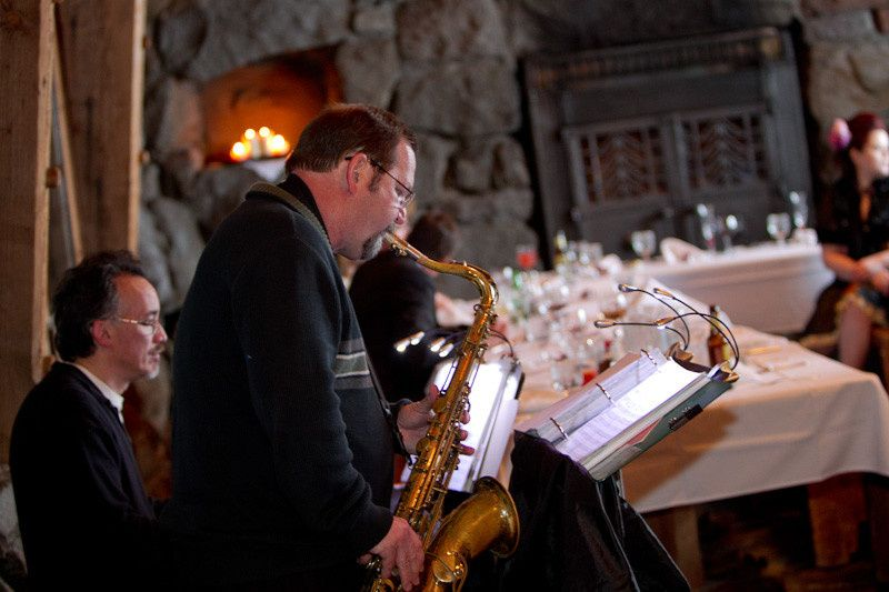 Steve Burpee (sax) and Chris Bidleman (piano) provides a wide range of music styles and can perform...