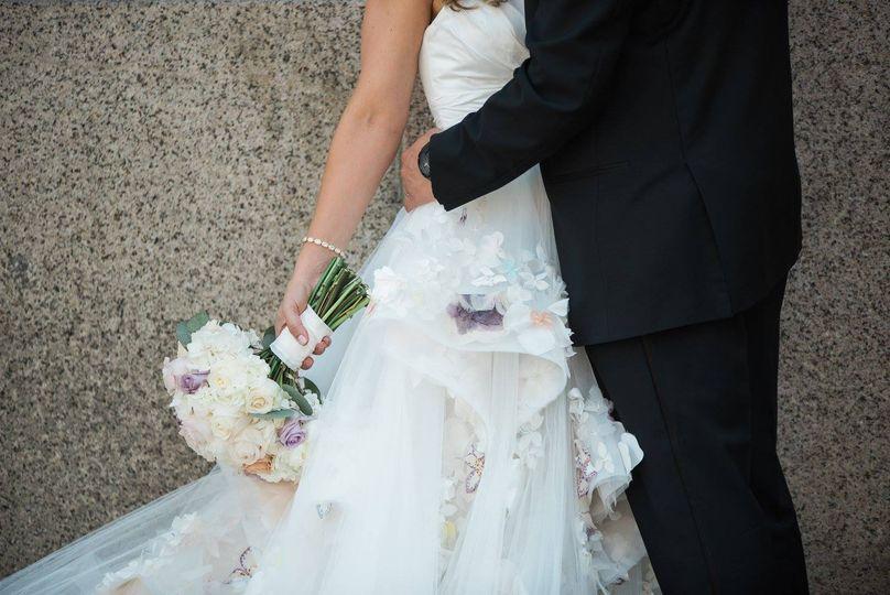 McCartan Wedding - dress