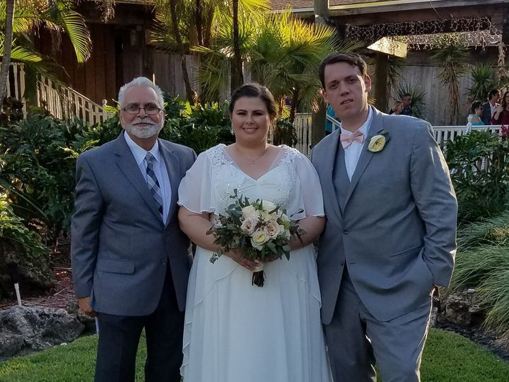 Tmx 1490543466541 Taylor And Mike Wesley Chapel, Florida wedding officiant