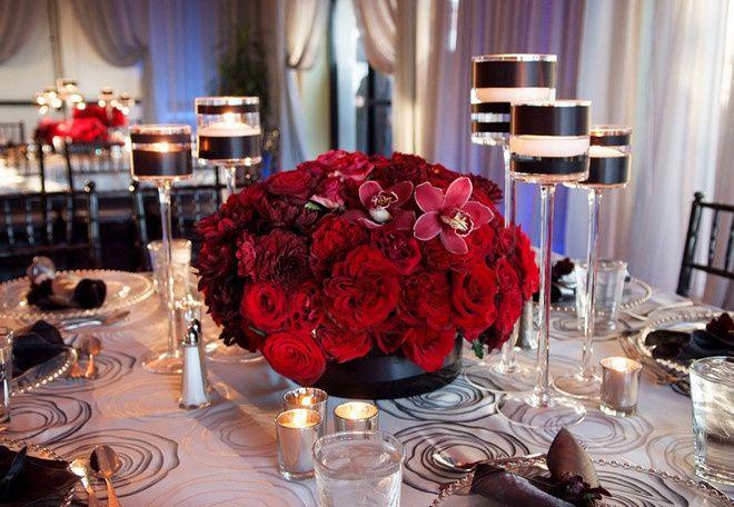 wedding centerpiece ideas table floral arrangement