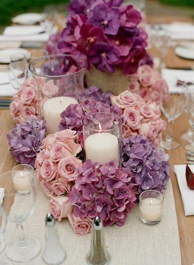 wedding centerpiece table arrangement ideas 47
