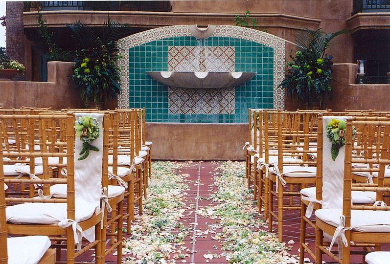 Pool Terrace Ceremony
