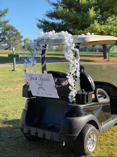 Golf Cart Decor