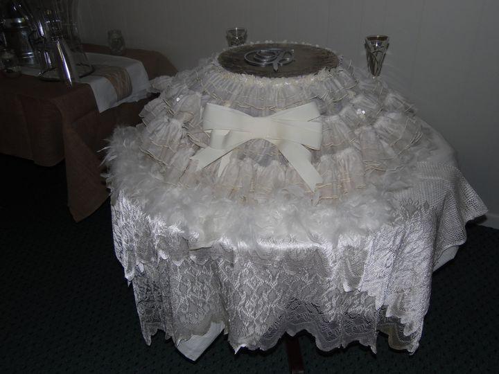 Embellished stand