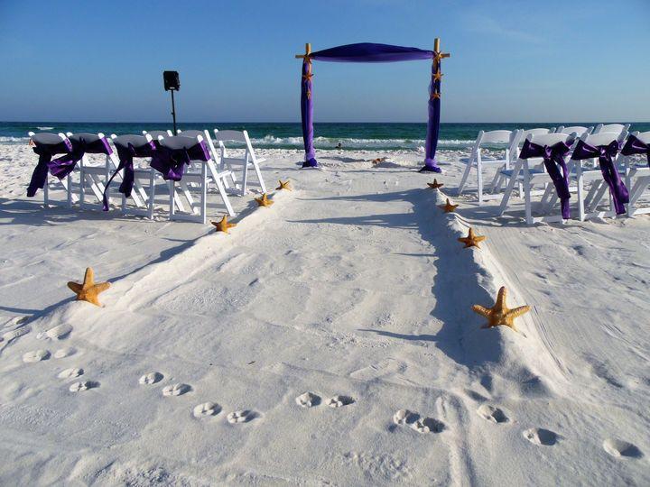 Purple arch setup