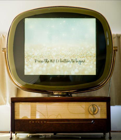 Old Philco TV in Photo Bomber