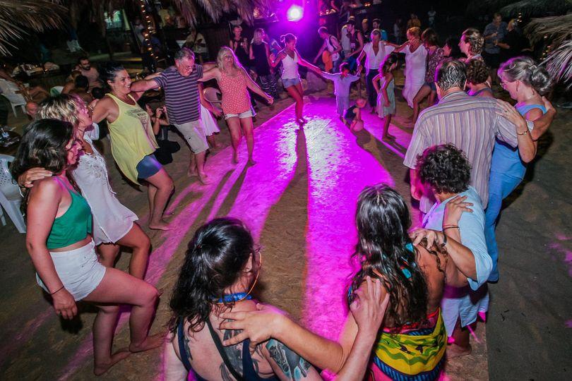 Beach Party at Stavros Beach Chania Crete Greece