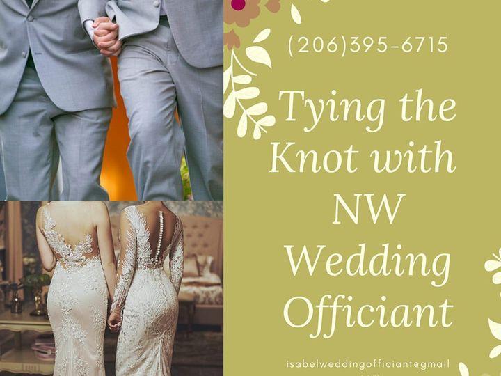 Tmx 68546028 2450898888299567 6538560423615004672 N 51 1871147 1566695195 Shoreline, WA wedding officiant