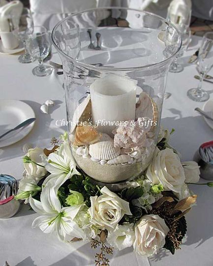 Sand And Shells Centerpiece