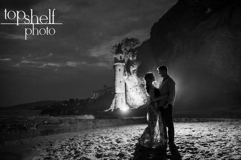 Engagement session by Top Shelf Photo.  Victoria Beach.  Laguna Beach.  www.top-shelf-photo.com