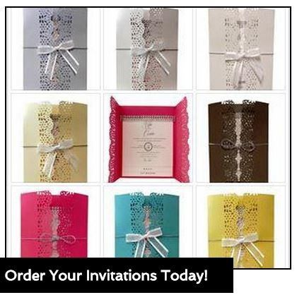 Handmade Wedding Invitations, Baby Shower Invitations, Anniversary Party Invitations With Bling.