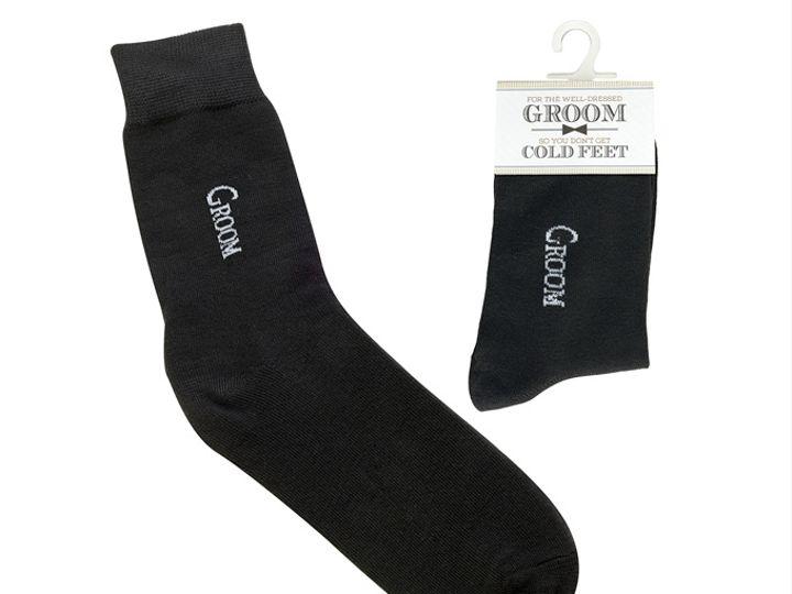 Tmx Black Groom Socks 51 782147 Lynn, MA wedding favor